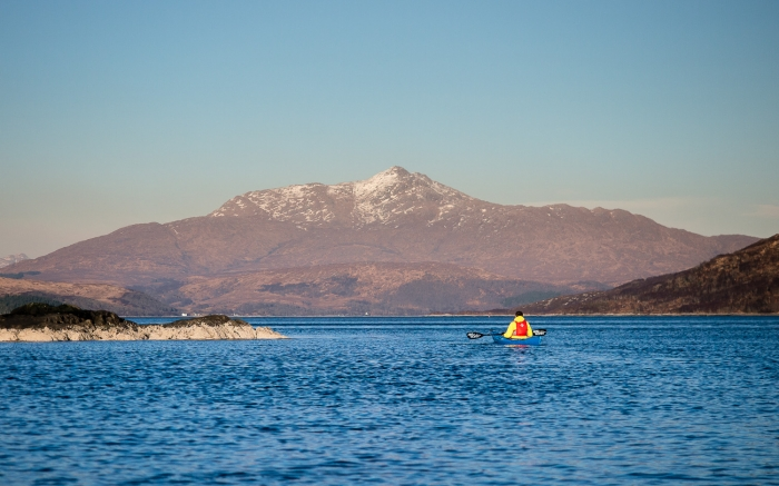 Exploring Ardgour's lochs and beaches by sea kayak